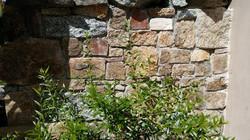 Stone feature wall in Moruya NSW