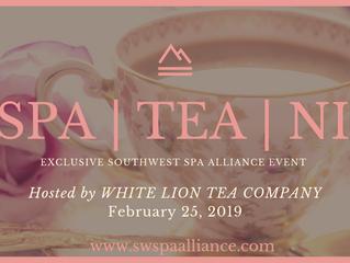 SPA | TEA | NI hosted by White Lion Tea Company & SWSPA Alliance