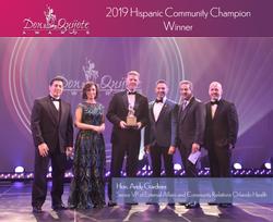 Hispanic Community Champion Winner
