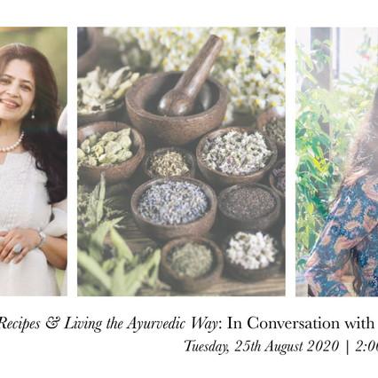 Class 1 | Ayurvedic Recipes & Living the Ayurvedic Way