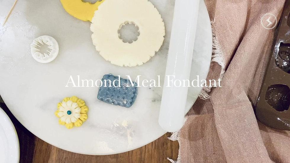 Almond Meal Fondant