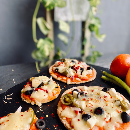 Flax Oat-Fiber Pizza