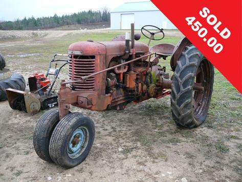 1948 Case SC Tractor