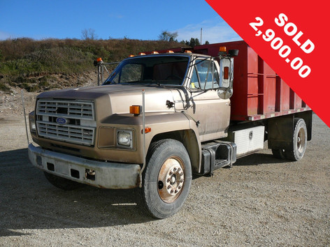 1987 Ford Dump Truck