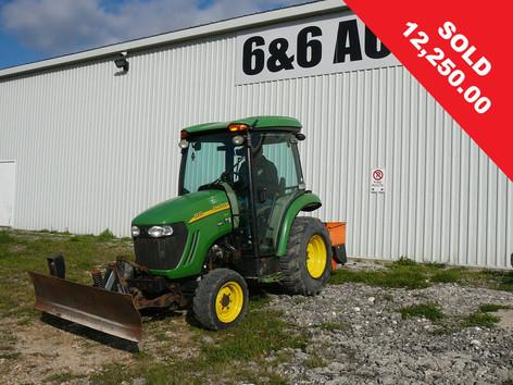 2012 John Deere 4x4 Compact Tractor
