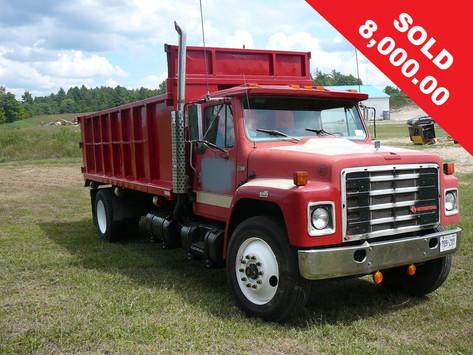 1987 International Dump Truck