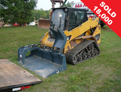 CAT 257B Skid Steer