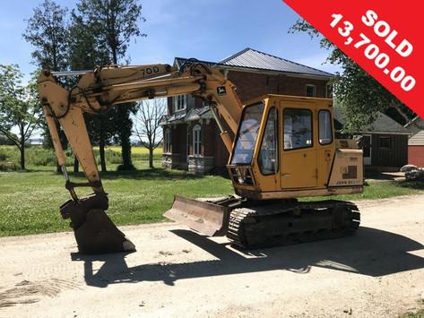 John Deere 70D Excavator