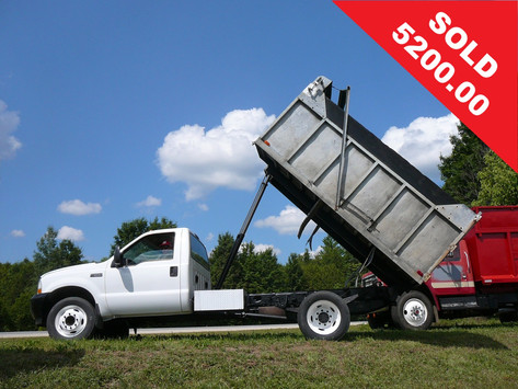 2002 Ford F550