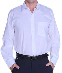 Camisa social masculina mista