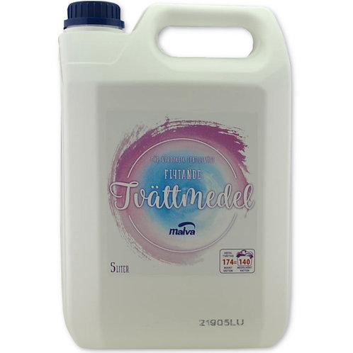 Flytande Tvättmedel parfymerat MALVA 5 liter