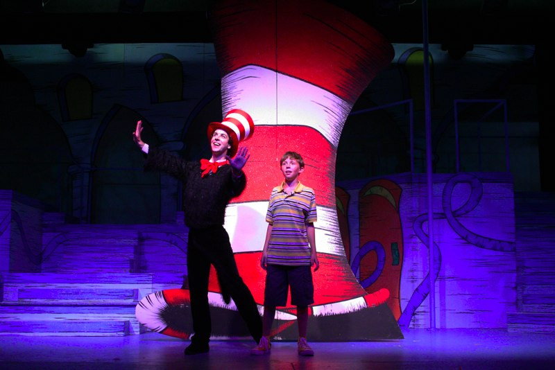 "Cat in the Hat in ""Seussical"""