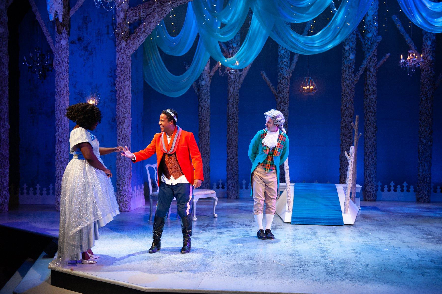"""Wesley in """"Cinderella"""""""