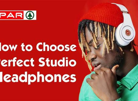 How to Choose Perfect Studio Headphones