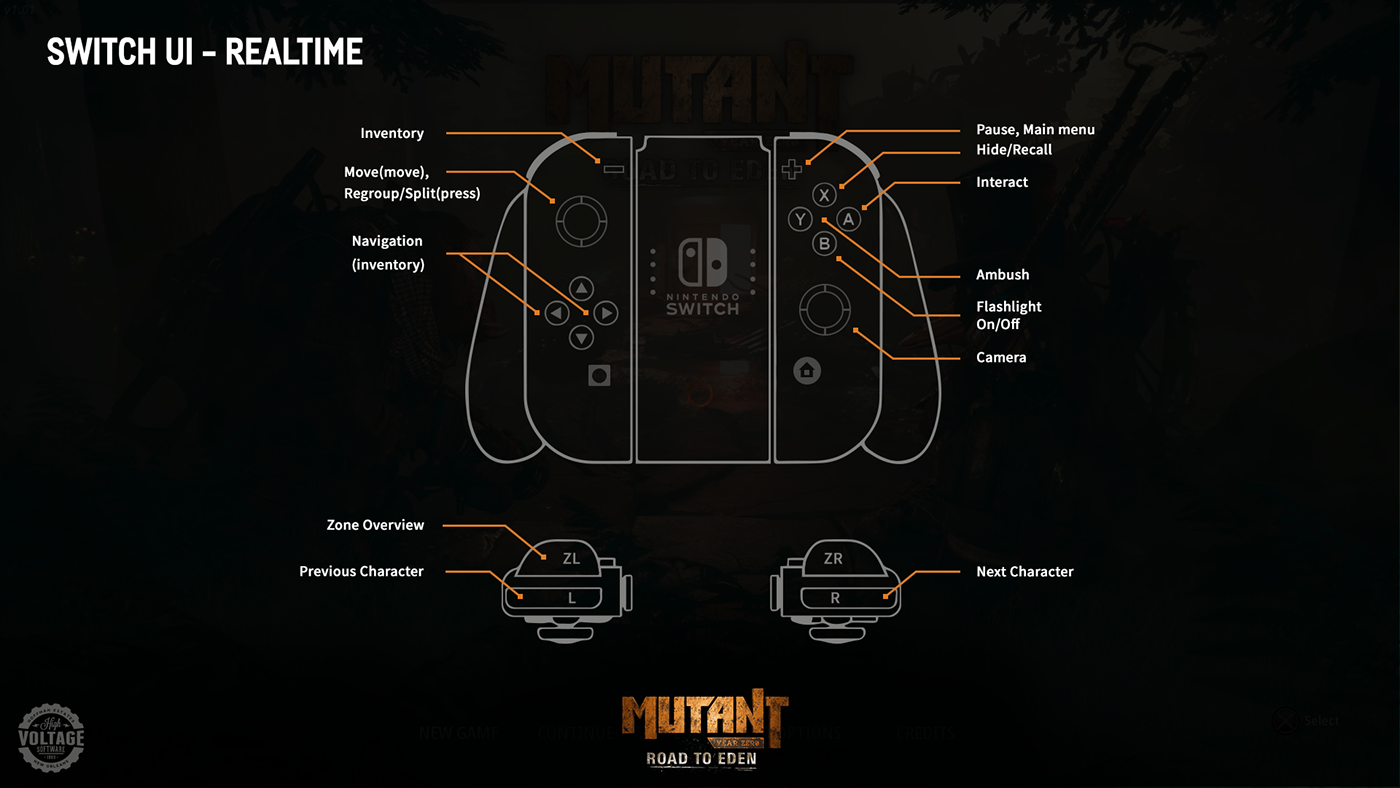 Controller Map: Realtime
