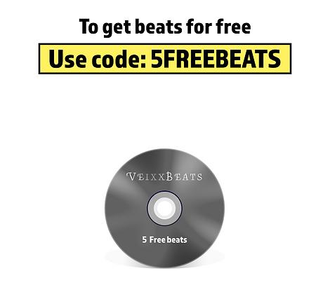 5 FREE BEATS