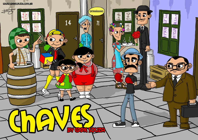 Chaves by Eddie Souza