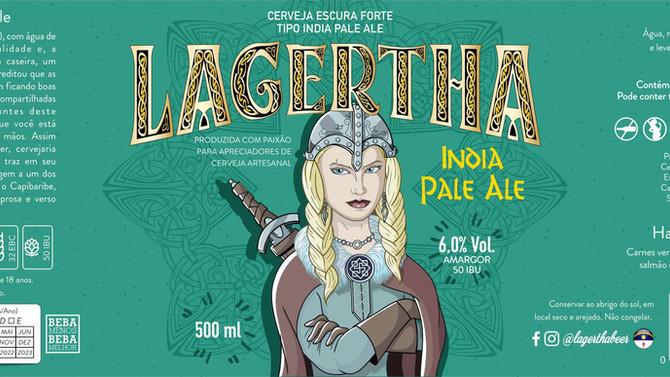 Rótulo de Cerveja - Lagertha
