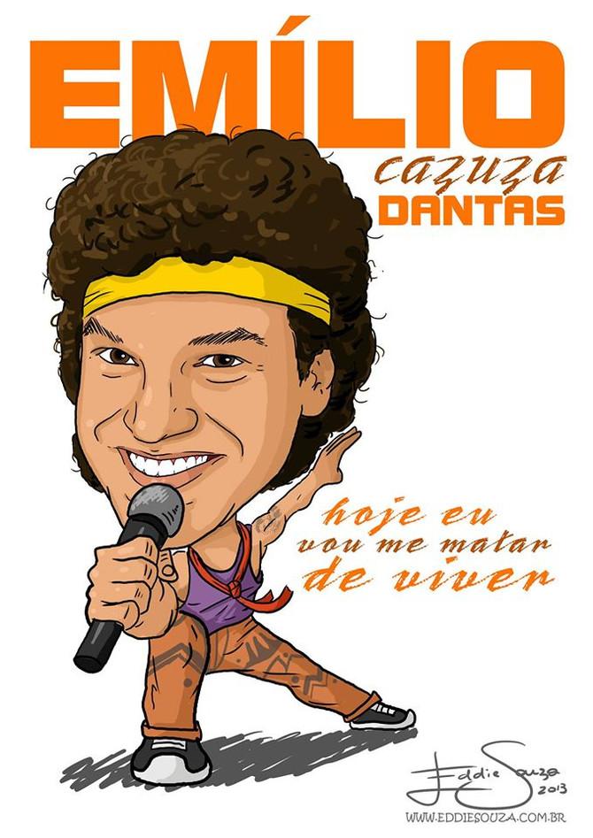 Caricatura Emílio Dantas