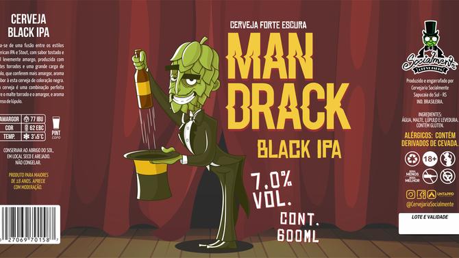 Rótulo de Cerveja - Mandrake