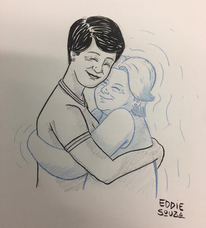 Um último abraço - Luciene Cruz