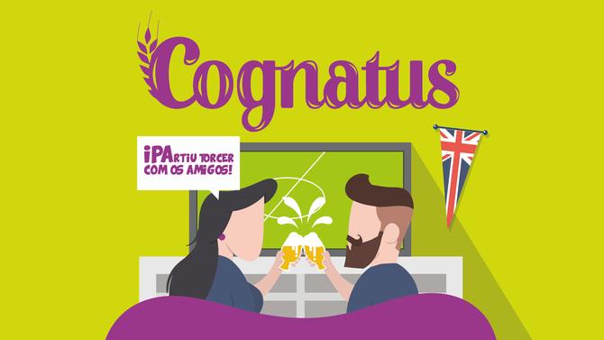 Rótulo de cerveja - Cognatus