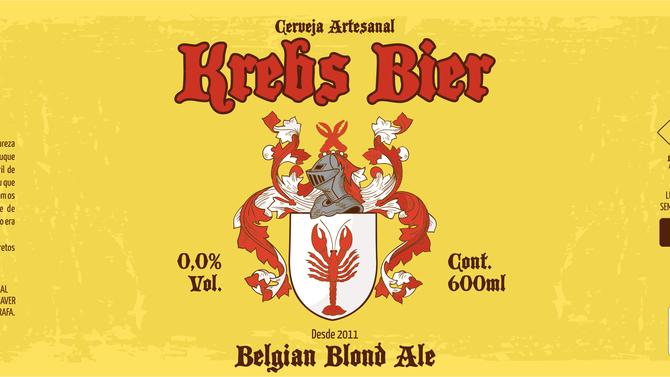 Rótulo de Cerveja - Krebs