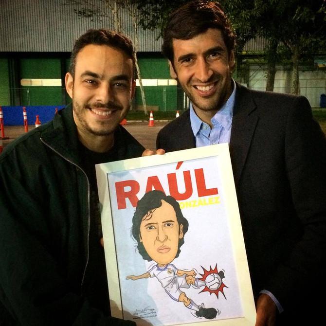 Caricatura Copa Parte 7 - Raul