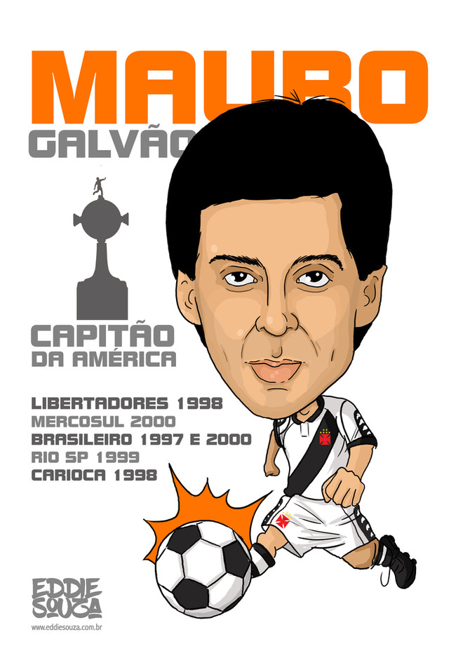 Caricatura Mauro Galvão