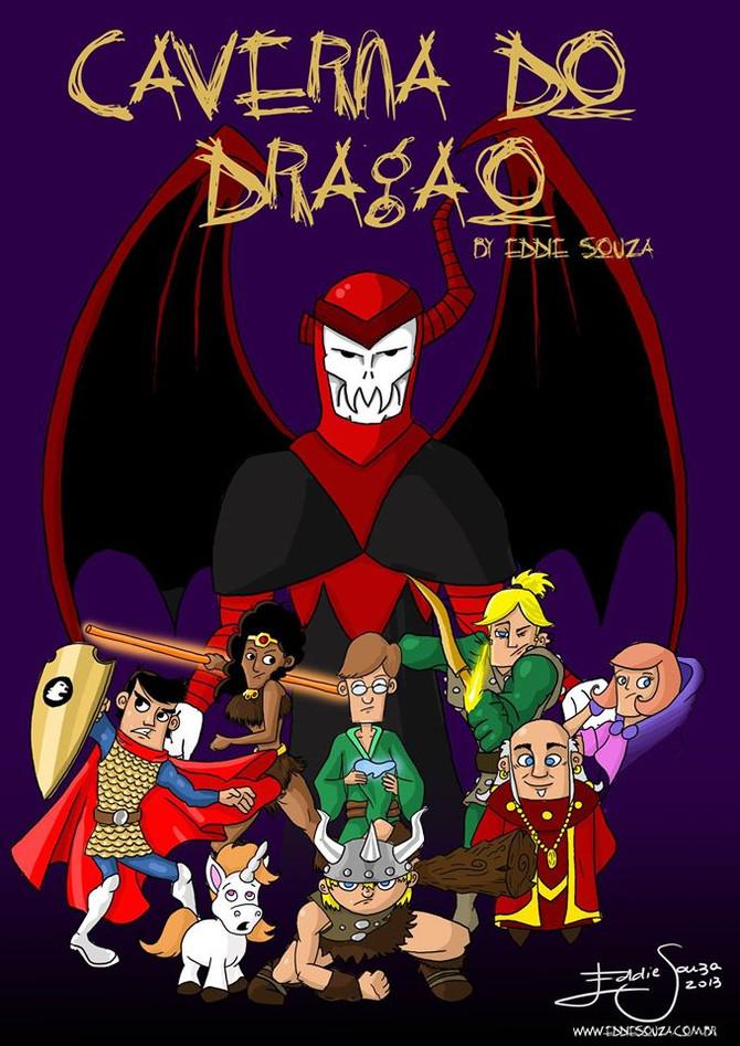 Caverna do Dragão by Eddie Souza