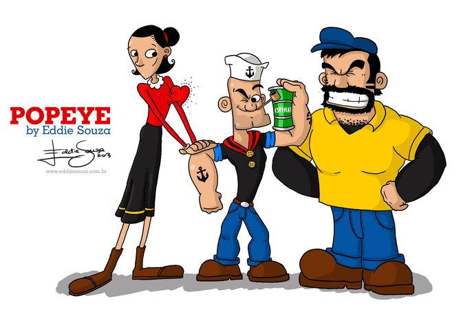 Popeye by Eddie Souza