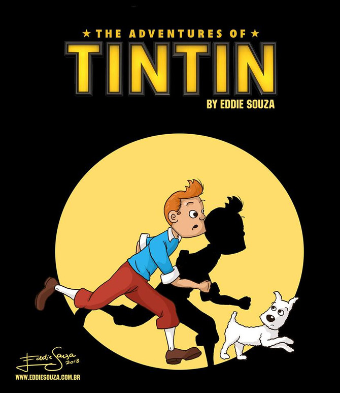 Tintin by Eddie