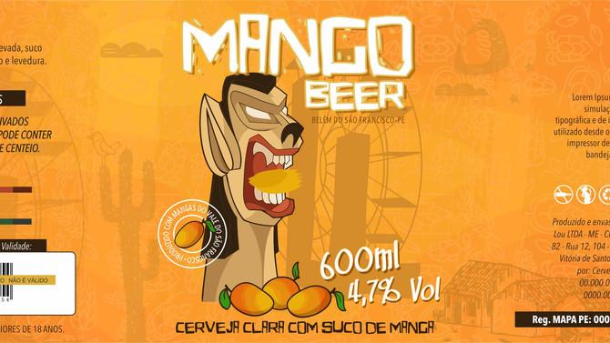 Rótulo de Cerveja - Jatinã Cervejaria- Mango Beer