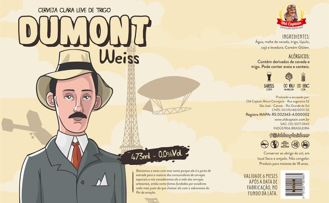 Rótulo de Cerveja - Old Captain - Dumont