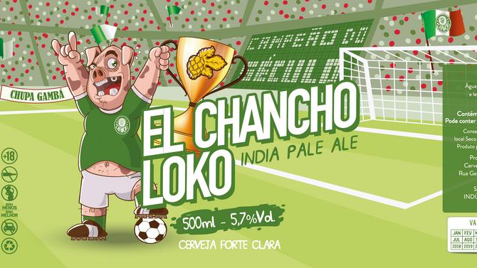 Rótulo de Cerveja - El Chancho Loko
