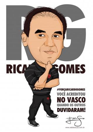 Caricatura Ricardo Gomes
