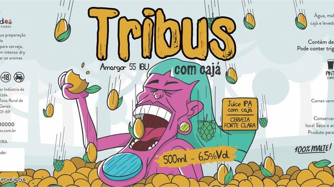 Rótulo de Cerveja - Botocudos - Tribus