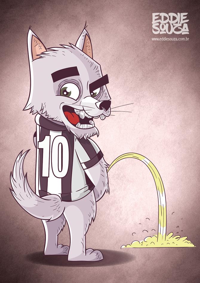 Mascotes do Brasileirão - Botafogo