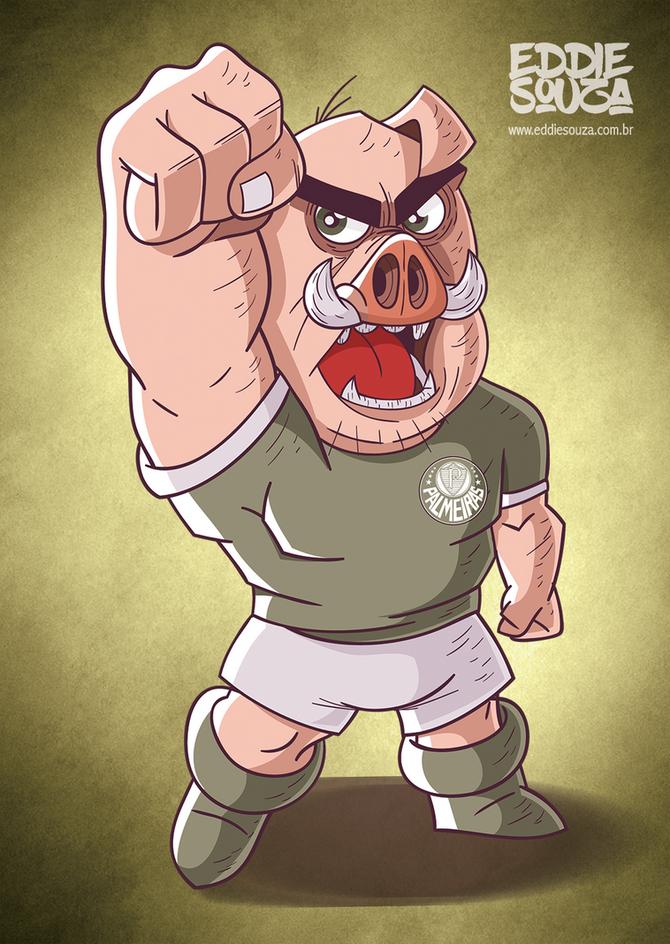 Mascotes do Brasileirão - Palmeiras