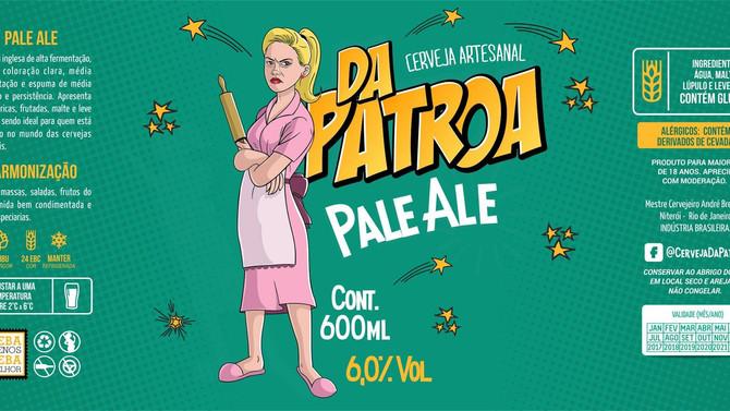 Rótulo de Cerveja - Da Patroa