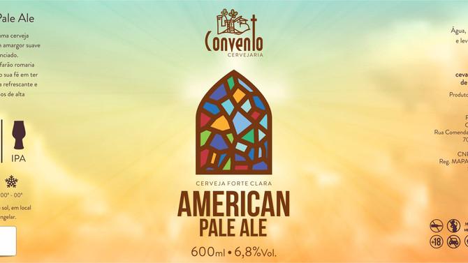 Rótulo de Cerveja - Convento