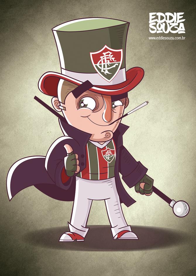 Mascotes do Brasileirão - Fluminense