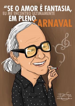 Caricatura Vinicius de Moraes