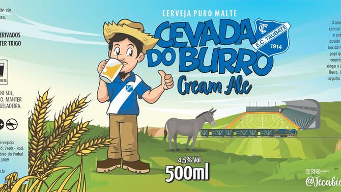 Rótulo de Cerveja - Jeca Bier - Cevada do Burro