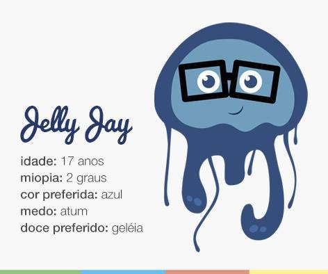 Jelly Jay - O mascote da 3 days