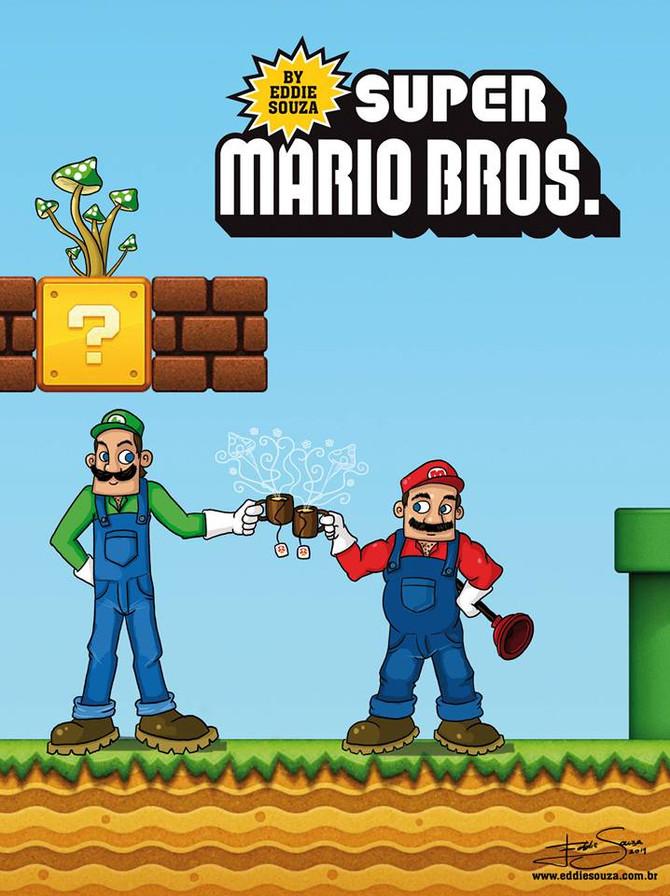 Super Mario Bros by Eddie Souza