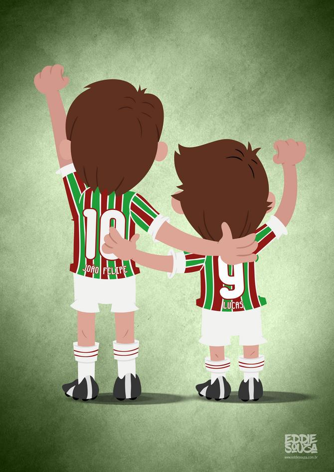 João Felipe e Lucas - Fluminense