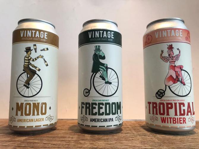 Rótulo de cerveja - Vintage