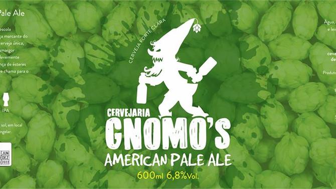 Rótulo de Cerveja - Cervejaria Gnomo's