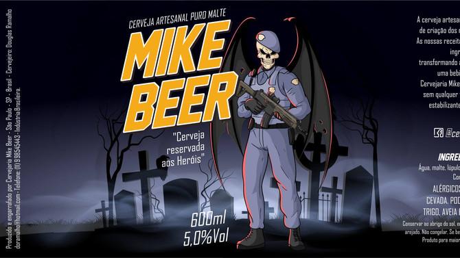 Rótulo de Cerveja - Mike Beer